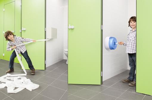 Tork acude a hygienalia pulire de valencia for Dispensadores para banos