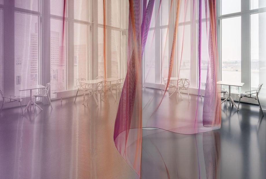 Nueva colecci n de telas para cortinas transparentes de - Tela termica para cortinas ...
