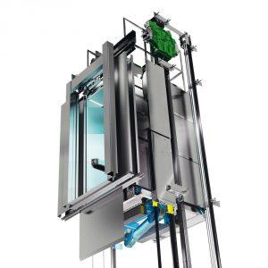 El primer ascensor sin cuarto de máquinas cumple 20 años ...