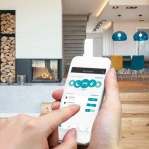 jung lanza smart home una 39 app 39 para el control remoto de enet equipamiento hostelero. Black Bedroom Furniture Sets. Home Design Ideas
